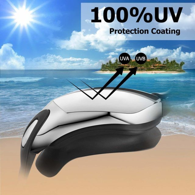 Myopia Swimming goggles adult swim goggle 5 in 1 swim goggles set Anti Fog UV waterproof prescription glasses 150-800 Degree